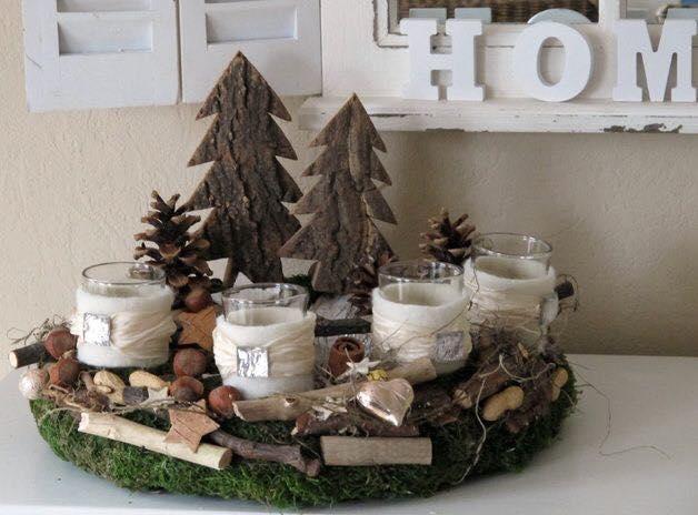Floreros para decorar en navidad 9 curso de organizacion - Deko ideen advent ...