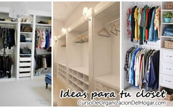 Grandiosas ideas para tu closet