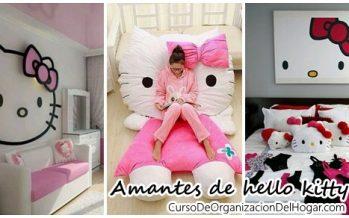 Habitaciones de hello kitty para niñas