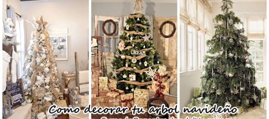 Ideas de arbolitos navideños