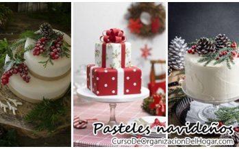 Ideas de pasteles navideños