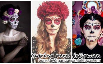 Ideas para el disfraz de catrina Halloween 2016