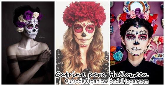 Ideas para el disfraz de catrina halloween