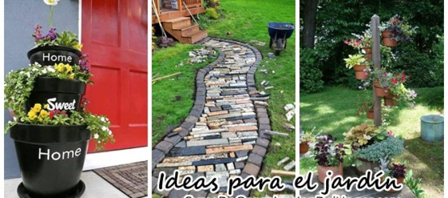 Ideas para jardinería – a intentar