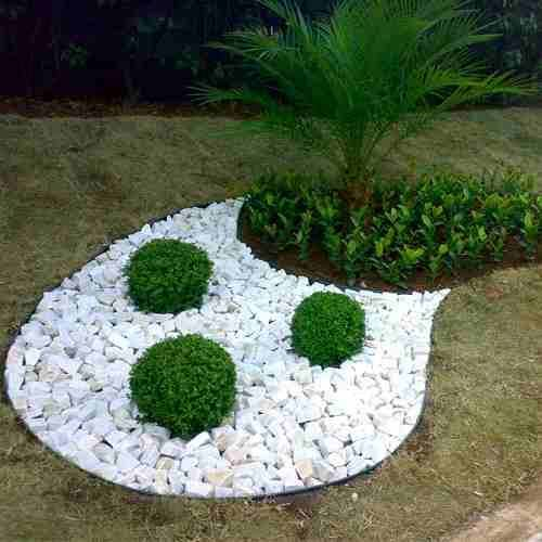 Jardines secos con piedras 5 curso de organizacion del hogar for Separador jardin