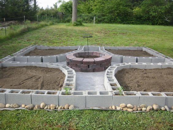 Maceteros con bloques de cemento 32 curso de - Maceteros de cemento ...