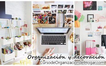 Opciones para organizar y decorar al mismo tiempo tu hogar