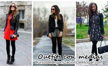 Outfits con medias – ideales para invierno