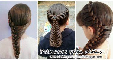 Peinados para niña ideales para la escuela