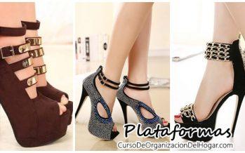 Zapatos con plataforma -hermosos y comodos
