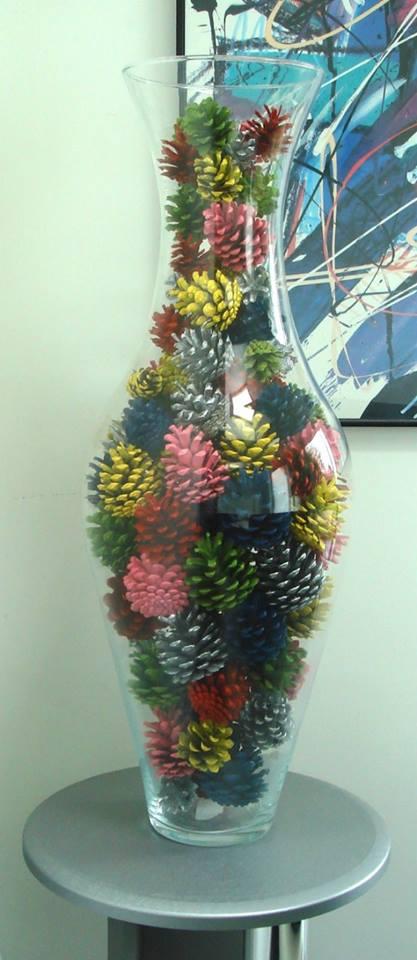 Adornos con pi as diy 7 curso de organizacion del - Cursos de decoracion de interiores ...