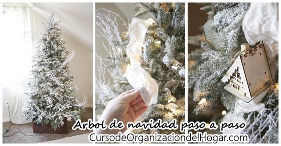Como decorar un arbol de navidad paso a paso 16 curso for Decoracion del hogar paso a paso