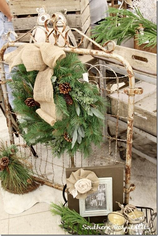 Diy accesorios de navidad rusticos 24 curso de for Accesorios para decoracion de interiores