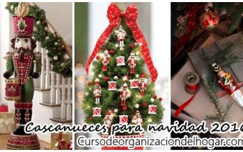 Decoración navideña 2016 con cascanueces