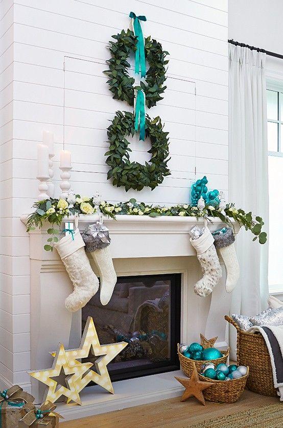 Decoraci n navide a 2016 verde azulado 2 curso de for Decoracion 2016 hogar