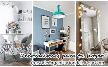 Detalles de decoración que harán de tu casa un lugar especial