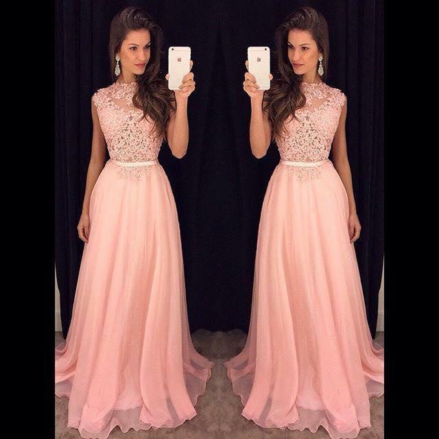 Hermosos vestidos de fiesta