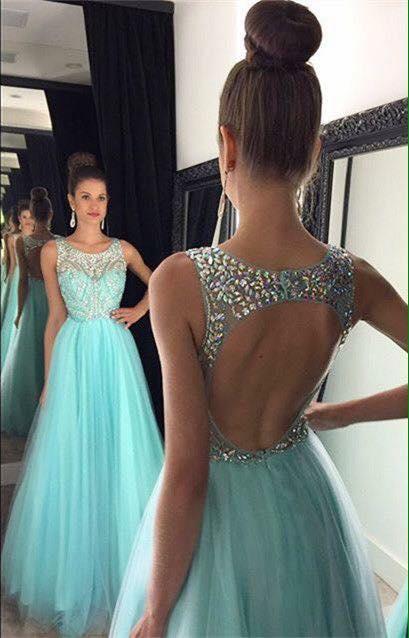 726e21de6c hermosos-vestidos-largos-para-fiestas-de-noche-34 - Curso de ...