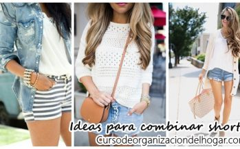 Ideas para combinar shorts para el día a día