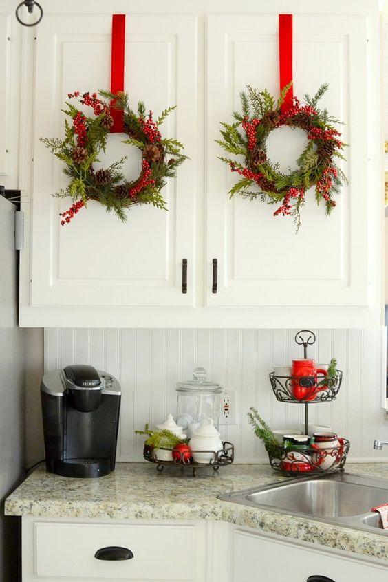Ideas para decorar tu cocina esta navidad 2016 2017 11 curso de organizacion del hogar y - Ideas para decorar tu cocina ...