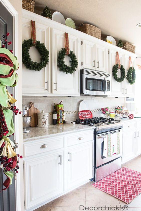 Ideas para decorar tu cocina esta navidad 2016 2017 14 - Ideas para decorar tu cocina ...