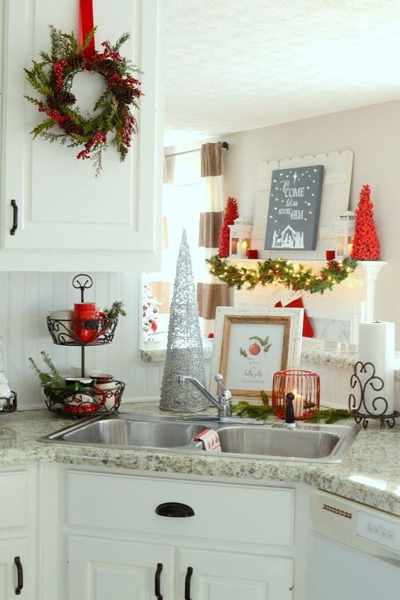 Ideas para decorar tu cocina esta navidad 2016 2017 17 - Ideas para decorar tu cocina ...