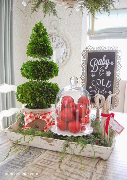 Ideas para decorar tu cocina esta navidad 2016 2017 23 - Ideas para decorar tu cocina ...