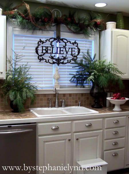 Ideas para decorar tu cocina esta navidad 2016 2017 24 - Ideas para decorar tu cocina ...