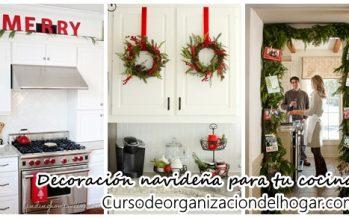 Ideas para decorar tu cocina esta navidad 2016-2017