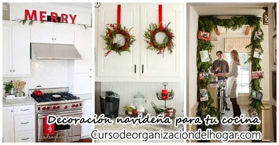 Ideas para decorar tu cocina esta navidad 2016-2017 - Curso de ...