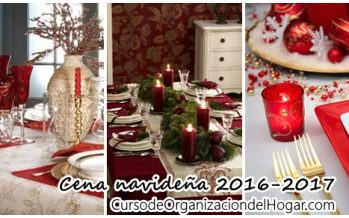 Ideas para decorar tu mesa para la cena navideña