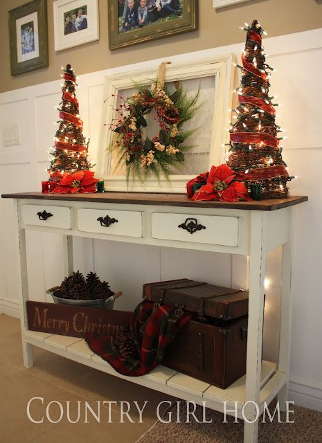Ideas para decorar tu recibidor esta navidad 2016 12 for Ideas para decorar recibidor
