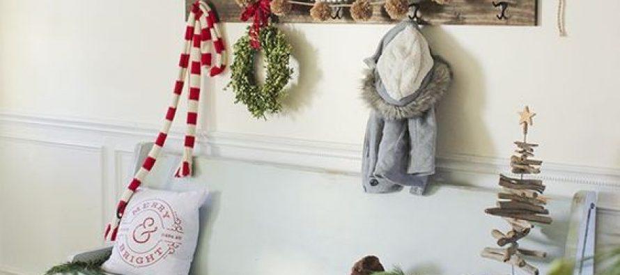 Ideas para decorar tu recibidor esta navidad 2017 2018 - Ideas para decorar recibidor ...