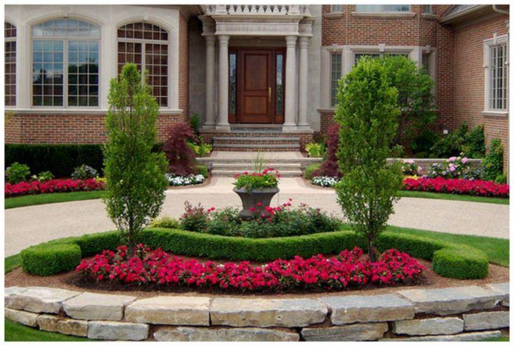 Ideas para el jardin frontal de tu casa 16 curso de - Ideas para jardines de casas ...