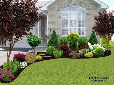 Ideas para el jardin frontal de tu casa 22 curso de for Ideas para tu jardin en casa