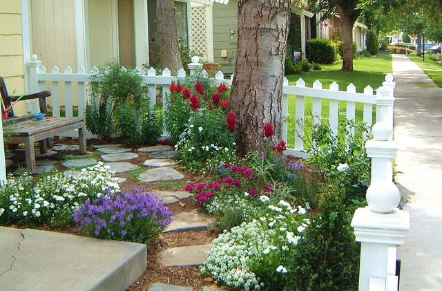 Ideas para el jardin frontal de tu casa 4 curso de for Ideas para tu jardin en casa