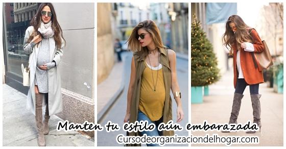 d0512f7e0 Outfits para embarazadas Archivos - Curso de Organizacion del hogar ...