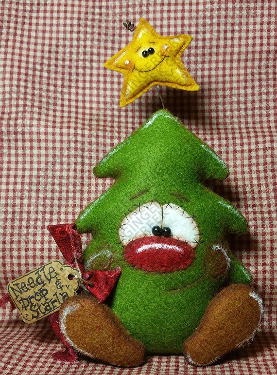 Moldes y manualidades de navidad en fieltro 95 curso de organizacion del hogar y decoracion de - Manualidades en fieltro para navidad ...