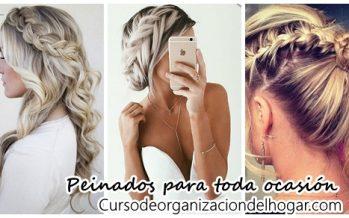 Peinados que puedes usar para cualquier ocasión