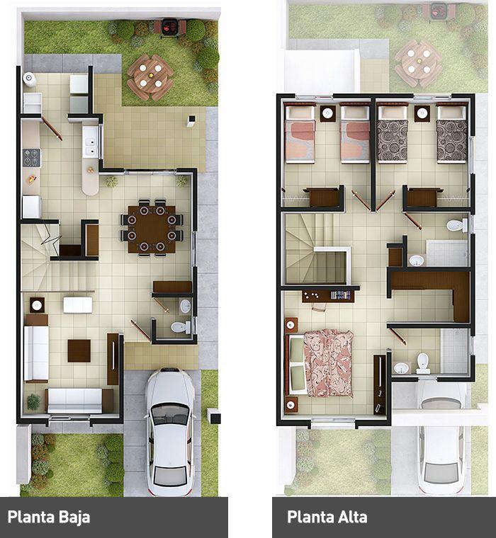 Planos para dise ar la distribucion de tu casa 84 for Planos para tu casa