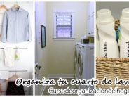 Tips de organización para cuartos de lavado
