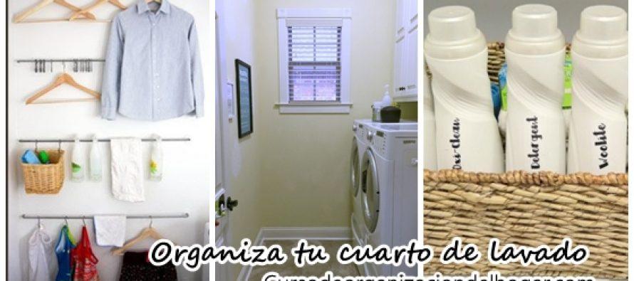 Tips de organización para cuartos de lavado - Curso de ...