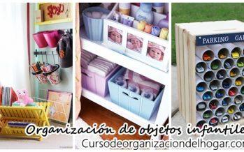 Tips para organizar las cosas de tus hijos