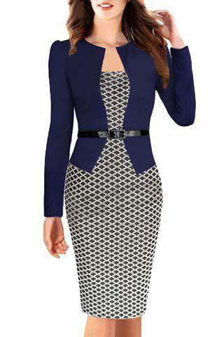 Trajes formales y elegantes para mujeres maduras (12) - Curso de ... 89a36893651