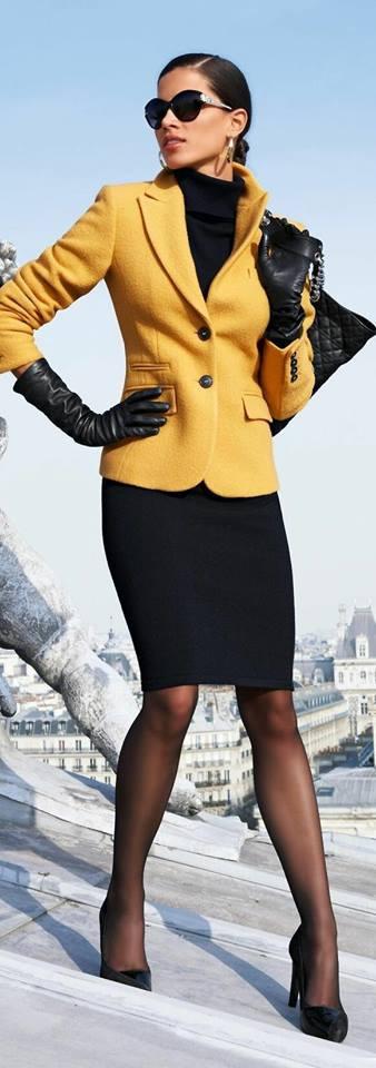 Colores de moda en Trajes formales y elegantes para mujeres maduras