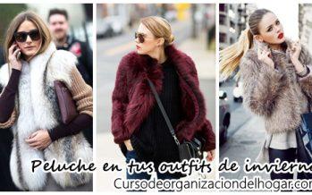 Atrevete a usar peluche en tus outfits de invierno ¡Se ve increible!