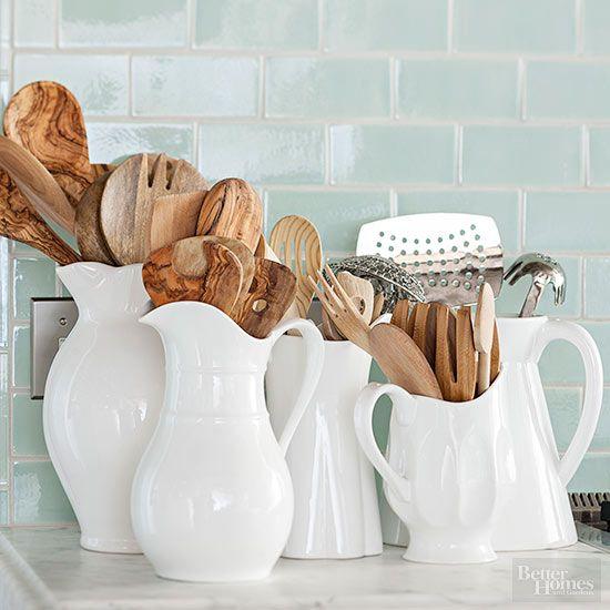 Como organizar utensilios de cocina 14 curso de for Utensilios decoracion cocina