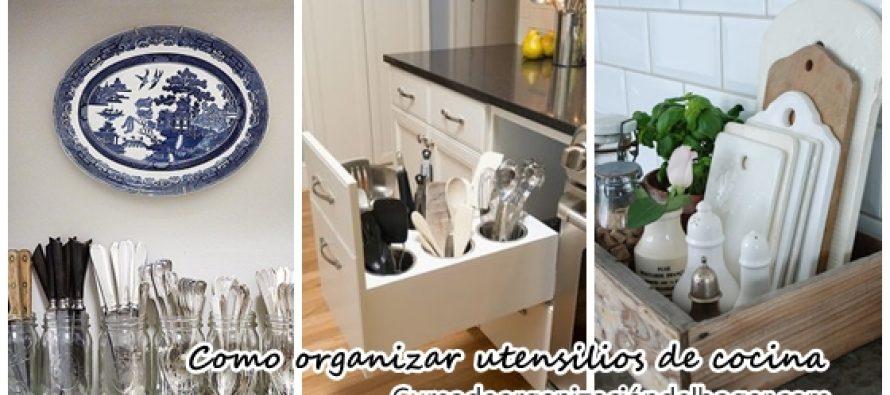 Como organizar utensilios de cocina curso de for Utensilios de hogar