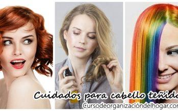 Cuidados para un cabello teñido
