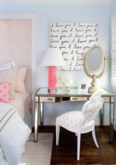 Dale a tu cuarto un estilo mas femenino con estas ideas (1 ...